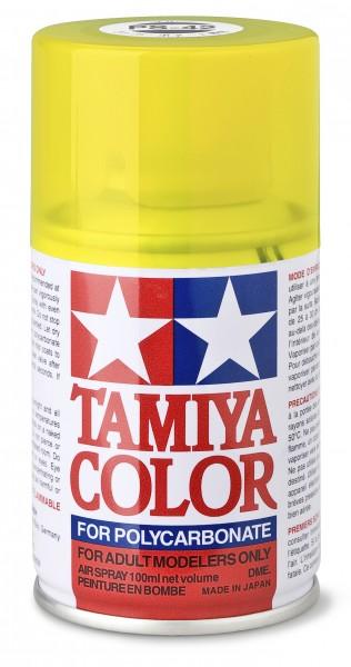 TAMIYA 300086042 PS 42 TRANSLUCENT GELB Polycarbonat 100ml
