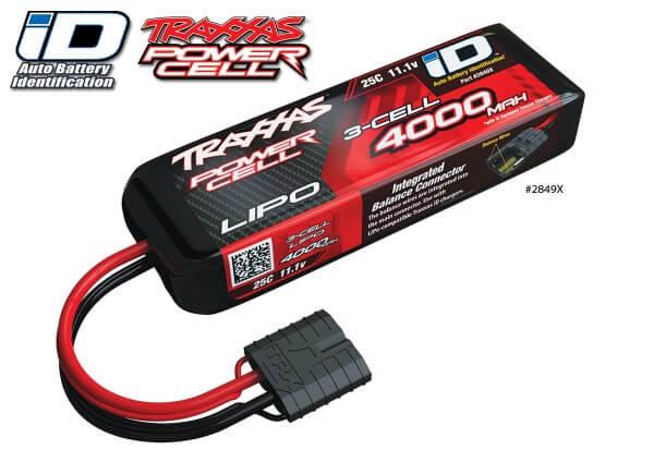 TRAXXAS® 2849X TRAXXAS® iD™ LiPo POWER CELL 4000 mAh 3S