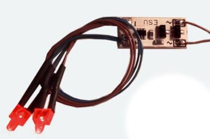 """ESU 50705 Innenbeleuchtung, Schlußlicht, 2 LED, """"Rot"""""""