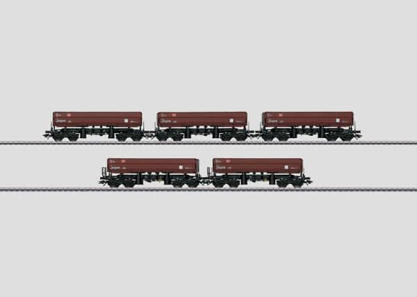 Märklin 48454 Schüttgut-Kippwagen-Set Fas 126