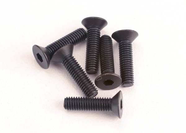 TRAXXAS® 2552 3x12 mm Senkkopf Innensechskant Schraube metrisch