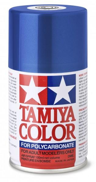 TAMIYA 300086016 PS-16 Metallic Blau Polycarbonat 100ml