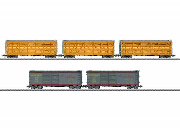 Märklin 45660 US Güterwagenset