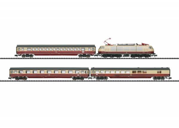 """Minitrix 11628 Zug-Set """"Rheingold TEE 7"""""""