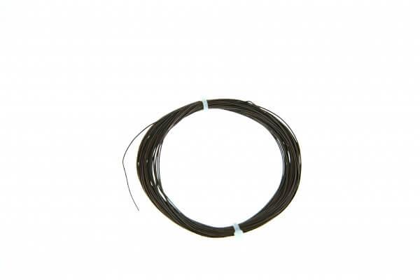 ESU 51948 Hochflexibles Kabel, Durchmesser 0,5mm, AWG36, 10m Wickel, Farbe braun