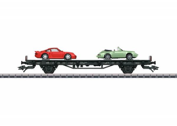 """Märklin 45055 Autotransportwagen """"70 Jahre Porsche-Sportwagen 5"""""""