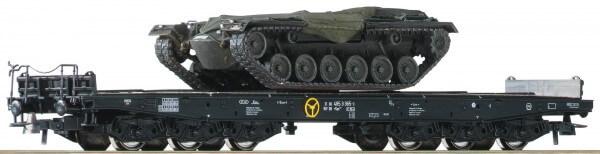 Roco 76161 2-teiliges Set Schwerlastwagen der DB mit M48 Panzern ohne Türme