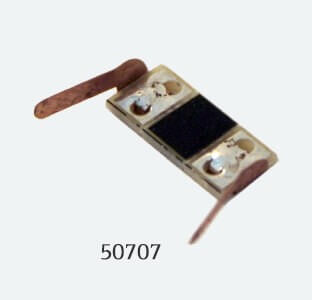 ESU 50707 Innenbeleuchtung, Stromabnehmer (Radkontakt) für Waggons N / H0, 8er Set (ausreichend für 8 Achsen)