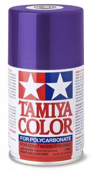 TAMIYA 300086018 PS-18 Metallic Violett Polycarbonat 100ml