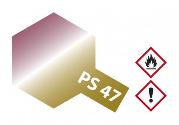 TAMIYA 300086047 PS-47 Pink-Gold Effekt Polycarbonat 100ml
