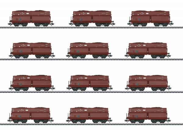 Märklin 46230 Selbstentladewagen-Set OOt Saarbrücken / Erz IId