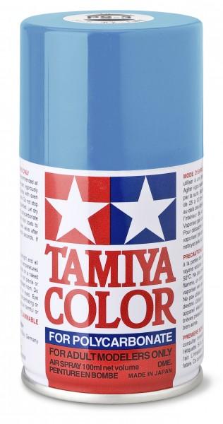 TAMIYA 300086003 PS-3 Hellblau Polycarbonat 100ml