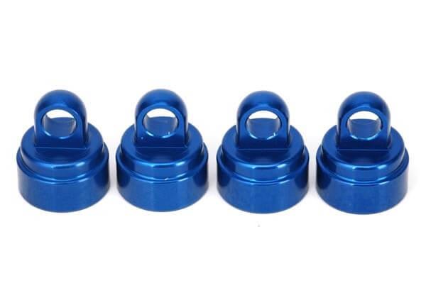 TRAXXAS® 3767A Ultra Shock Aluminium Dämpfer-Kappen-Set blau