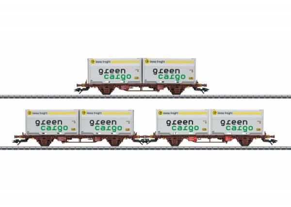 Märklin 47724 Container-Tragwagen-Set Lgjns