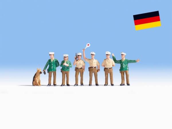 Noch 38402 Polizisten Deutschland