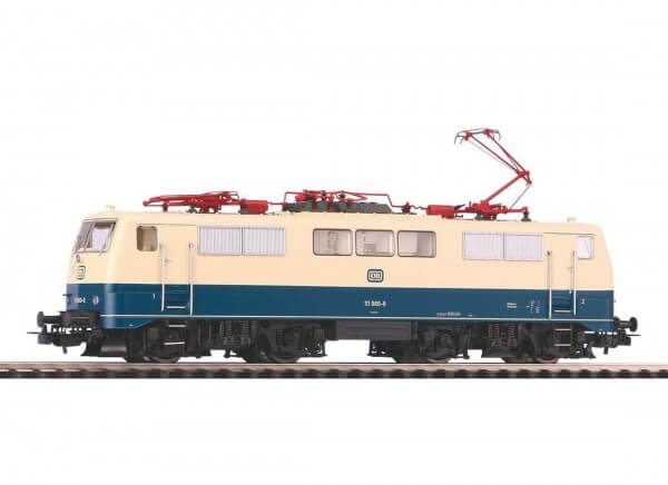 Piko 51847 Elektrolokomotive BR 111 Ozeanblau-Beige