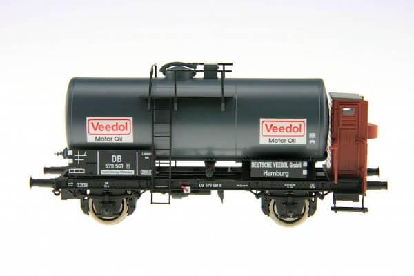 """BRAWA 48895 2-achsiger Kesselwagen """"Veedol"""" der DB."""