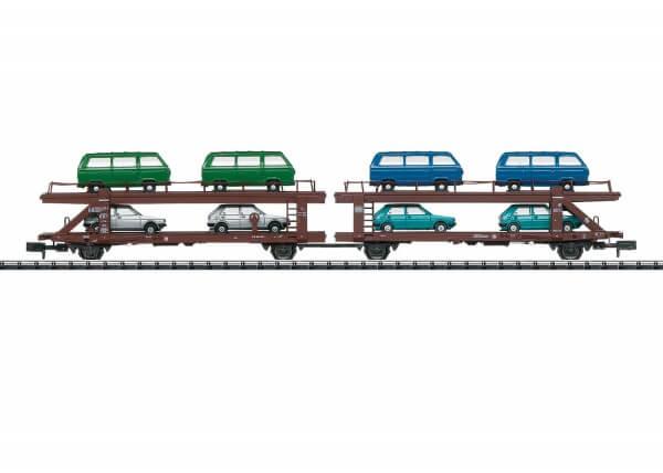 Minitrix 15441 Autotransportwagen Doppeleinheit Laekks 553