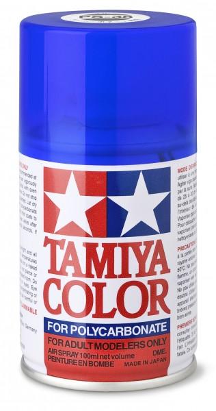 TAMIYA 300086038 PS-38 TRANSLUCENT BLUE Polycarbonat 100ml