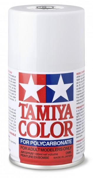 TAMIYA 300086001 PS-1 Weiss Polycarbonat 100ml