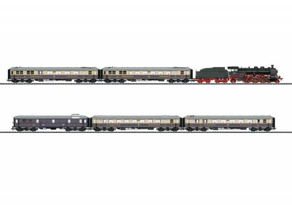 TRIX 21928 Schnellzug-Dampflokomotive Baureihe 18.5 und Rheingold 1928