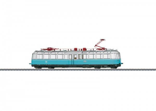 TRIX 22191 Aussichtstriebwagen BR 491 Olympiablau