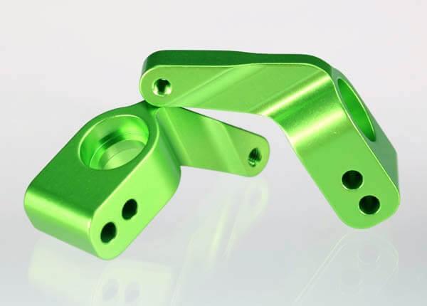 TRAXXAS® Achshalter hinten 2 Stück aus Aluminium in grün