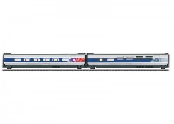 Märklin 43446 Ergänzungswagen-Set 3 zum TGV POS 37796