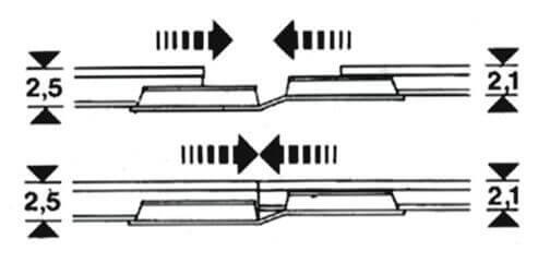 FLEISCHMANN 6437 Übergangs-Schienenverbinder