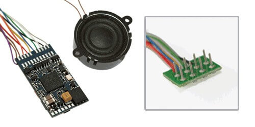 """ESU 64400 LokSound V4.0 M4 """"Universalgeräusch zum Selbstprogrammieren"""", mit 8-pol. NEM652 Schnittstelle, Spurweite: 0, H0"""