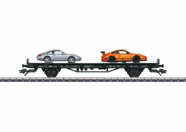 """Märklin 45057 Autotransportwagen """"70 Jahre Porsche-Sportwagen 7"""""""