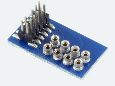 ESU 51969 Adapterplatine, für Decoder mit 8-pol NEM652 Schnittstelle für Loks mit PluX12,16,22-Schnittstelle