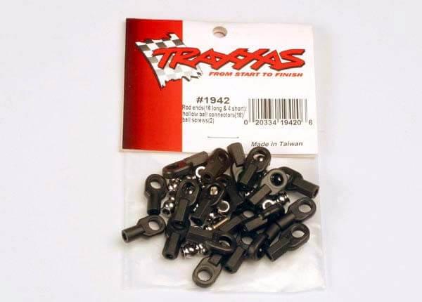 TRAXXAS® 1942 Kugelpfannen und Hohlkugelköpfe Set