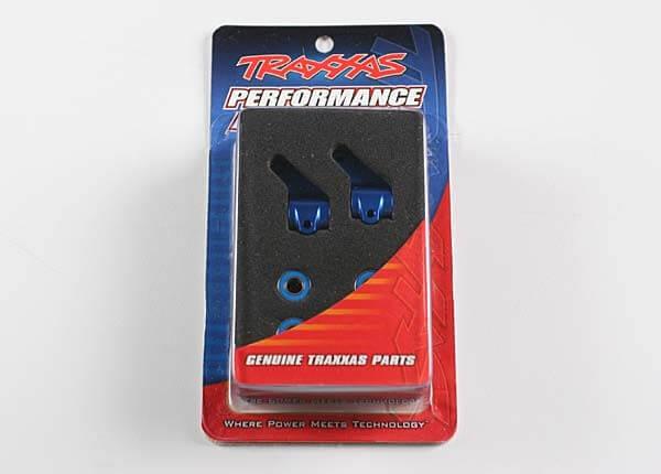 TRAXXAS® 3636A Lenkhebel Aluminium blau mit Kugellagern