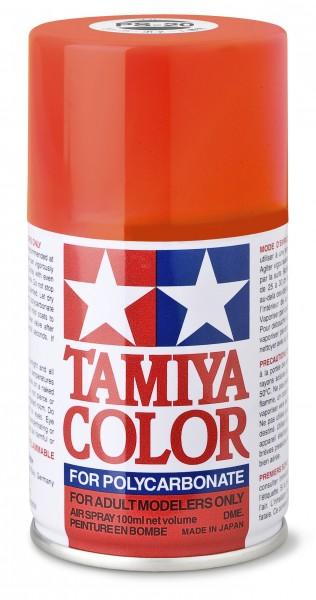 TAMIYA 300086020 PS-20 Neon Rot Polycarbonat 100ml