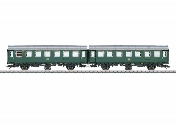 Märklin 43183 Reisezugwagen-Paar B3ygeb mit Innenbeleuchtung