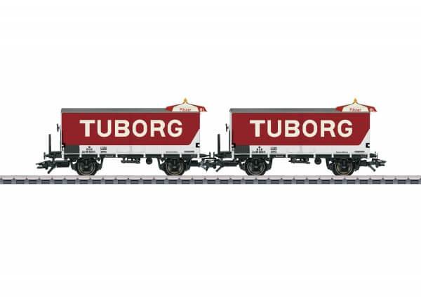 Märklin 48777 TUBORG Bierwagen-Set Typ ZB