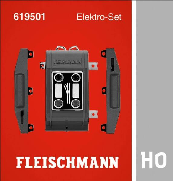FLEISCHMANN 619501 Elektro-Set für PROFI-Gleis